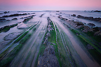 Barrika area, Bay of Biscay, Basque country, Barrika coast