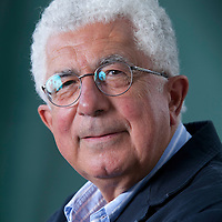 "Avraham ""Avi"" Shlaim FBA is an Iraqi-born British/Israeli historian, academic, at the Edinburgh International Book Festival 2015. Edinburgh, Scotland. 21st August 2015 <br /> <br /> Photograph by Gary Doak/Writer Pictures<br /> <br /> WORLD RIGHTS"
