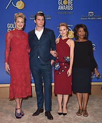 75th Annual Golden Globe Awards Nominations Announcement. The Beverly Hilton Hotel, Beverly Hills, CA. Pictured: Simone Alexandra Johnson. EVENT December 11, 2017. 11 Dec 2017 Pictured: Sharon Stone,Alfre Woodard,Garrett Hedlund,Kristen Bell. Photo credit: AXELLE/BAUER-GRIFFIN/MEGA TheMegaAgency.com +1 888 505 6342
