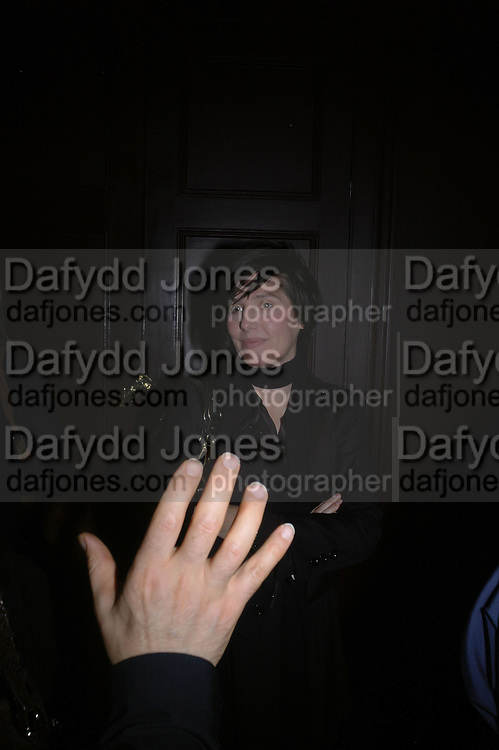 Sharleen Spiteri, Jay Jopling and White Cube host a post Frieze opening party at Sketch. London. 20 October 2005. ONE TIME USE ONLY - DO NOT ARCHIVE © Copyright Photograph by Dafydd Jones 66 Stockwell Park Rd. London SW9 0DA Tel 020 7733 0108 www.dafjones.com