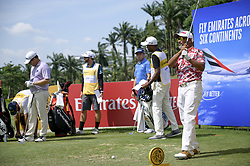March 22, 2019 - Kuala Lumpur, Malaysia - Rahil Gangjee (R) of India in action on Day Two of the Maybank Championship at at Saujana Golf and Country Club on March 22, 2019 in Kuala Lumpur, Malaysia. (Credit Image: © Chris Jung/NurPhoto via ZUMA Press)