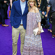 London,England,UK : 15 June 2016 : Katherine Kelly attend the Disney's Aladdin Opening Night at the Prince Edward Theatre on Old Compton Street, Soho, London. Photo by See Li
