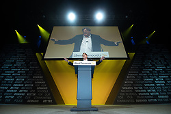 © Licensed to London News Pictures . 14/09/2019. Bournemouth, UK. GUY VERHOFSTADT speaks at a rally at the end of the first day of the Liberal Democrat Party Conference at the Bournemouth International Centre . Photo credit: Joel Goodman/LNP