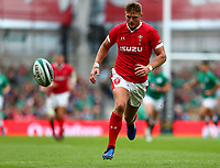Rugby Union - 2019 pre-Rugby World Cup warm-up (Guinness Summer Series) - Ireland vs. Wales<br /> <br /> Dan Biggar (Wales) at The Aviva Stadium.<br /> <br /> COLORSPORT/KEN SUTTON