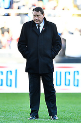 November 12, 2016 - Rome, Italy - Steve Hansen head coach of New Zealand  during the International Match between Italy and New Zealand at Stadio Olimpico, Rome, Italy on 12 November 2016. Photo by Giuseppe Maffia. (Credit Image: © Giuseppe Maffia/NurPhoto via ZUMA Press)