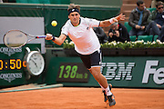 Paris, France. Roland Garros. May 26th 2013.<br /> Spanish player David FERRER against Marinko MATOSEVIC