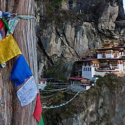 Taktsang Monastery (Tiger's Nest), Paro Valley, Bhutan, Asia