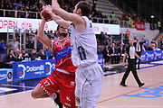 DESCRIZIONE : Trento Lega A 2015-16 Dolomiti Energia Trentino - Consultinvest Pesaro<br /> GIOCATORE : Marco Ceron<br /> CATEGORIA : Tiro<br /> SQUADRA : Dolomiti Energia Trentino - Consultinvest Pesaro<br /> EVENTO : Campionato Lega A 2015-2016 <br /> GARA : Dolomiti Energia Trentino - Consultinvest Pesaro<br /> DATA : 08/11/2015 <br /> SPORT : Pallacanestro <br /> AUTORE : Agenzia Ciamillo-Castoria/M.Gregolin<br /> Galleria : Lega Basket A 2015-2016 <br /> Fotonotizia : Trento Lega A 2015-16 Dolomiti Energia Trentino - Consultinvest Pesaro