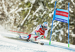 Gino Caviezel (SUI) competes during 9th Men's Giant Slalom race of FIS Alpine Ski World Cup 55th Vitranc Cup 2016, on March 4, 2016 in Kranjska Gora, Slovenia. Photo by Vid Ponikvar / Sportida