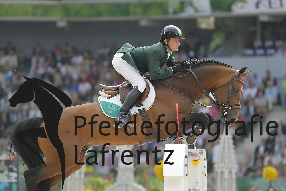 Kenny, Darragh, Imothep<br /> Normandie - WEG 2014<br /> Springen - Finale IV<br /> © www.sportfotos-lafrentz.de/ Stefan Lafrentz