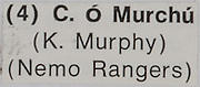 Kieran Murphy, Cork