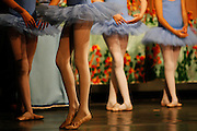 Saturday June 28th 2008. Paris, France..In a theatre. A school dance show..Rue Marsoulan - 12th Arrondissement........