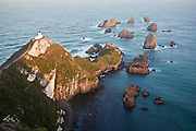 Sunset over Nugget Point, Catlins, New Zealand