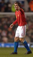 Photo: Paul Greenwood.<br />England v Spain. International Friendly. 07/02/2007. Reaction from Spains David Albelda