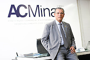 Belo Horizonte_MG, Brasil.<br /> <br /> Roberto Fagundes, presidente da Associacao Comercial de Minas Gerais, Acminas.<br /> <br /> Roberto Fagundes, president of the The Commercial and Entrepreneurial Association of Minas, ACMinas. <br /> <br /> Foto: HUGO CORDEIRO / NITRO