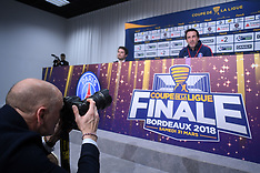 Press Conference & Training - Paris SG vs Monaco Final - 30 March 2018
