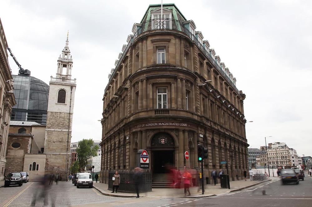 City of London Magistrate's Court..Photo by Jonathan Goldberg