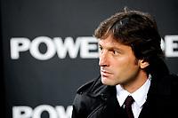LEONARDO allenatore Milan<br /> Milan Sampdoria 3-0<br /> Milano 5/12/2009 Stadio Giuseppe Meazza<br /> Campionato Italiano di Calcio Serie A 2009/2010<br /> Foto Andrea Staccioli Insidefoto