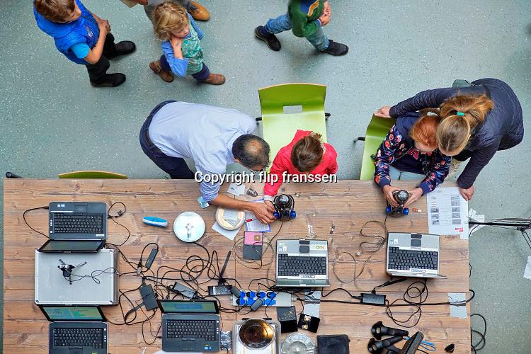 Nederland, Nijmegen, 28-9-2019Open dag voor kinderen en hun ouders in het Technovium.Foto: Flip Franssen