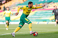 Norwich City forward Josip Drmic (20)  in action  during the Premier League match between Norwich City and Southampton at Carrow Road, Norwich, England on 19 June 2020.