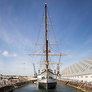 HMS Gannet, sloop-of-war 1878. The Historic Dockyard Chatham.