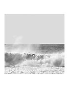 B&W Hawaii seascape contemporary fine art photograph