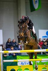 De Cock Thomas, BEL, Lanson-R<br /> Klasse Zwaar<br /> Nationaal Indoor Kampioenschap Pony's LRV <br /> Oud Heverlee 2019<br /> © Hippo Foto - Dirk Caremans<br /> 09/03/2019
