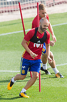 Andres Iniesta during the training of the spanish national football team in the city of football of Las Rozas in Madrid, Spain. August 28, 2017. (ALTERPHOTOS/Rodrigo Jimenez)