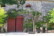 Winery building. Mas Montel, Sommieres, Languedoc, France