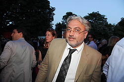 ROBERT TCHENGUIZ at the annual Serpentine Gallery Summer party this year sponsored by Jaguar held at the Serpentine Gallery, Kensington Gardens, London on 8th July 2010.  2010 marks the 40th anniversary of the Serpentine Gallery and the 10th Pavilion.