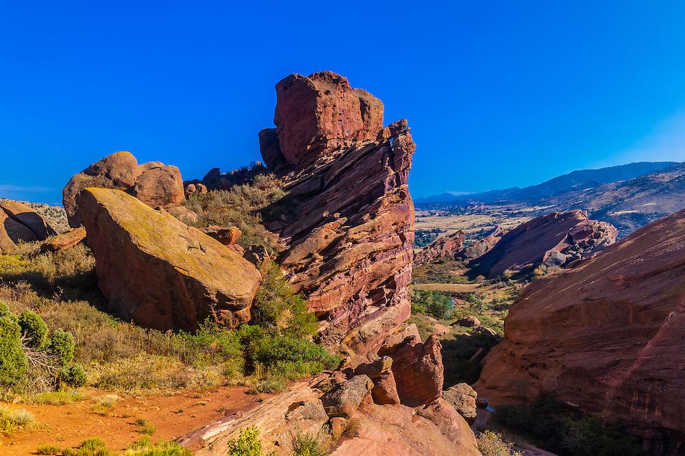 Red Rocks Park, Morrison, Colorado USA