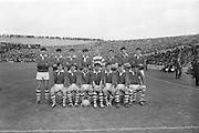 22/09/1968<br /> 09/22/1968<br /> 22 September 1968<br /> All Ireland Minor Football Final: Sligo v Cork at Croke Park Dublin. The Cork team.