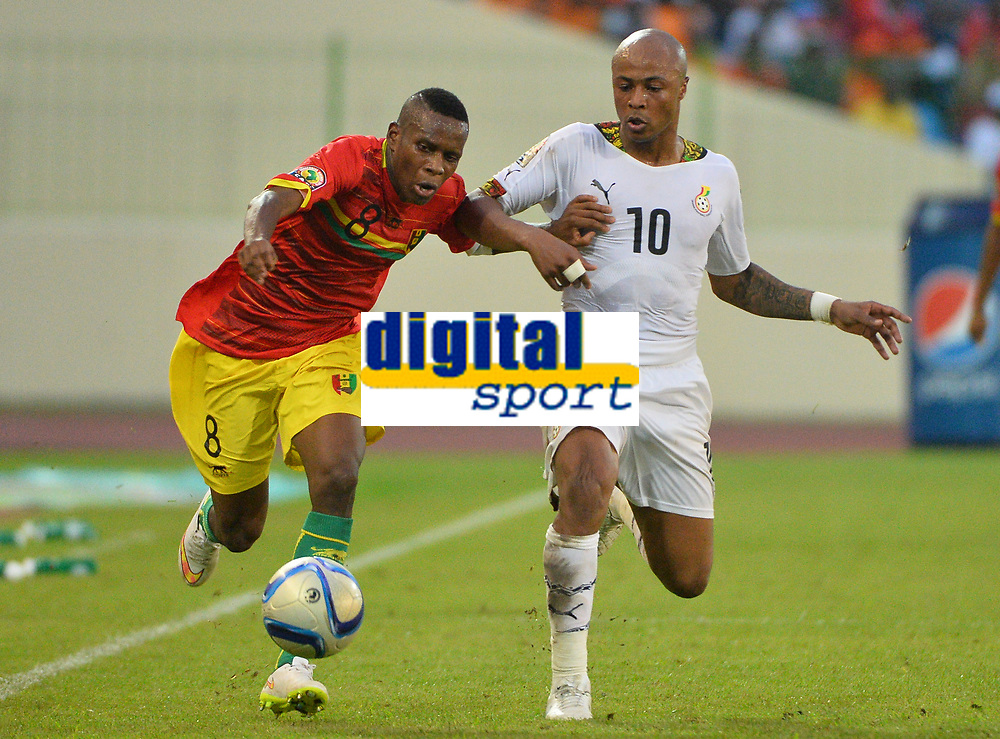 Ibrahima Traoré ( Guinee ) - André Ayew ( Ghana )