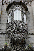 The figure of Triton, symbolizing the allegory of the Creation of the World, Pena National Palace, Sintra, Portugal. PHOTO PAULO CUNHA/4SEE