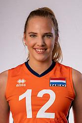 Pleun van der Pijl of Netherlands, Photoshoot selection of Orange women's youth volleybal team season 2021on june 15, 2021 in Arnhem, Netherlands (Photo by RHF Agency/Ronald Hoogendoorn)
