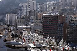 May 23, 2018 - Montecarlo, Monaco - Yachts of Monaco harbour during the Monaco Formula One Grand Prix  at Monaco on 23th of May, 2018 in Montecarlo, Monaco. (Credit Image: © Xavier Bonilla/NurPhoto via ZUMA Press)