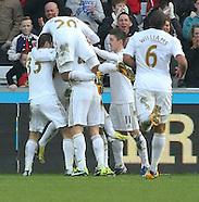 Swansea City v Newcastle United 020313