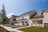 Architectural Image of the residential community of Fairview Village in Phoenixville, PA by Jeffrey Sauers of Commercial Photographics