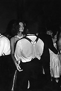 Sophia Garnett and Isaac Ayer-Kumi at Cooke Dance 27/9/1986 at Savile Club. ONE TIME USE ONLY - DO NOT ARCHIVE  © Copyright Photograph by Dafydd Jones 66 Stockwell Park Rd. London SW9 0DA Tel 020 7733 0108 www.dafjones.com