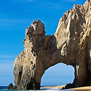 The arch of Cabo San Lucas. Baja California Sur, Mexico.