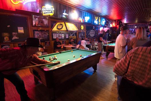 Sultana Bar on Route 66  in Williams, Arizona