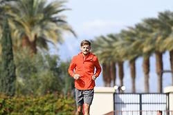 March 10, 2019 - Palm Desert, California, Usa - Tennis : BNP Paribas Open 2019 - David Goffin - Belgique (Credit Image: © Panoramic via ZUMA Press)