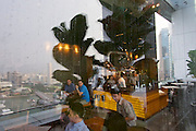 """Singapore. Level 33 Restaurant & Lounge offers """"experimental penthouse dining in the World's highest urban craft-brewery."""""""