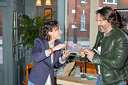 LEAH WOOD at a quiz night hosted by Zoe Jordan to celebrate the launch of her men's ZJKNITLAB collection held at The Larrick Pub, 32 Crawford Place, London on 20th April 2016.
