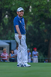 March 1, 2018 - EUM20180301DEP29.JPG.CIUDAD DE MÉXICO.- Golf-WGC Mexico.-  1 de marzo de 2018.- El golfista sudafricano Louis Oosthuizen encabeza la competencia,  tras el primer día del WGC Mexico Championship que se disputa en el Club de Golf Chapultepec. Foto: Agencia EL UNIVERSAL/Camila Mata/RCC. (Credit Image: © El Universal via ZUMA Wire)