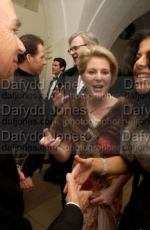 Viscountess Linley. Dinner to unveil the Van Cleef & Arpels jewellery collection 'Couture' with fashion by Anouska Hempel Couture. The Banqueting House, Whitehall Palace, London on 8th March 2005.ONE TIME USE ONLY - DO NOT ARCHIVE  © Copyright Photograph by Dafydd Jones 66 Stockwell Park Rd. London SW9 0DA Tel 020 7733 0108 www.dafjones.com