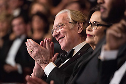 March 4, 2018 - Hollywood, California, U.S. - Donald Sutherland attends the live ABC Telecast of The 90th Oscars at the Dolby Theatre in Hollywood. (Credit Image: ? Phil McCarten/AMPAS via ZUMA Wire/ZUMAPRESS.com)