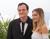 Director Quentin Tarantino and Margot Robbie at Once Upon A Time... In Holywood film photo call at the 72nd Cannes Film Festival, Wednesday 22nd May 2019, Cannes, France. Photo credit: Doreen Kennedy