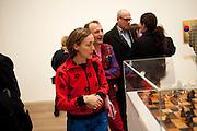 SOPHIE ROGERS; AB ROGERS, Gabriel Orozco reception, Tate Modern, London. 18 January 2010. .-DO NOT ARCHIVE-© Copyright Photograph by Dafydd Jones. 248 Clapham Rd. London SW9 0PZ. Tel 0207 820 0771. www.dafjones.com.