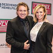 NLD/Amsterdam/20161111 - Oremière film De Zevende Hemel, Marco Borsato en partner Leontien Borsato - Ruiters